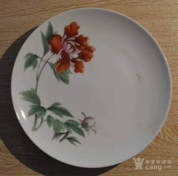 湖南醴陵1966花卉 小盘