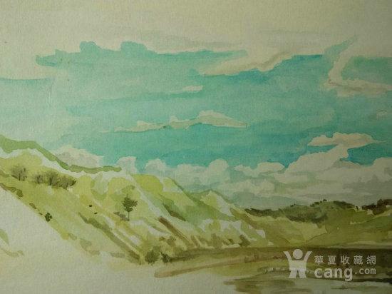 著名画家经典水彩画 张家口风景