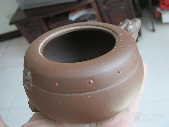 研究员级高级工艺美术师周尊严制紫砂壶标本