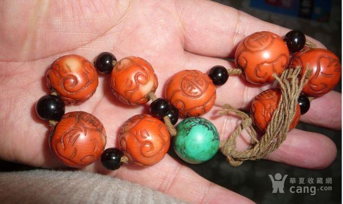 老珊瑚2.0珠子8粒