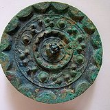 汉代铜镜10公分