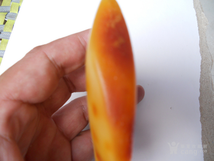正宗天然极品鸡油黄老蜜蜡原石裸石