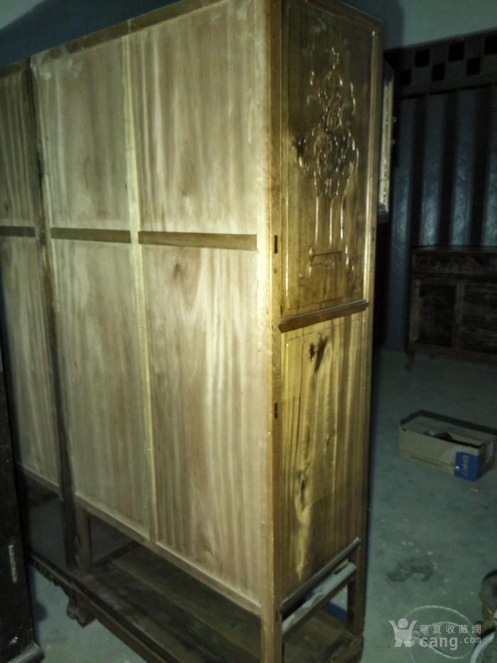 金丝楠木书柜一对 明清古典金丝楠木老家具