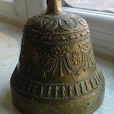 少见清代藏传铜质满工*杵法器铜铃铛一个