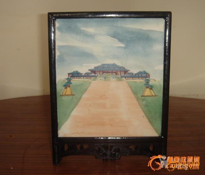 手绘人物风景 画工到位 人物表现力强 中央电视台外景基地徐州汉城 是