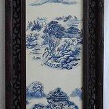 珠山八友瓷板画