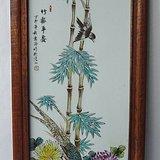 珠山八友小瓷板画