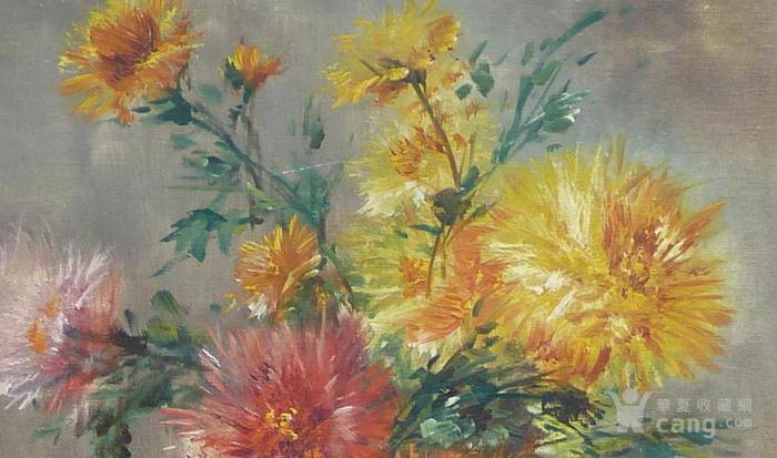 炭笔画花卉简单
