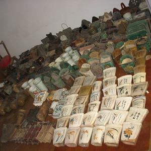 筷筒筷子笼箸筒箸笼─农家乐餐饮装饰徽商世家潘尤林专题民俗收藏