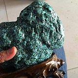 真正收藏级 满乌兰花 松石 摆件 2520克 绝无仅有