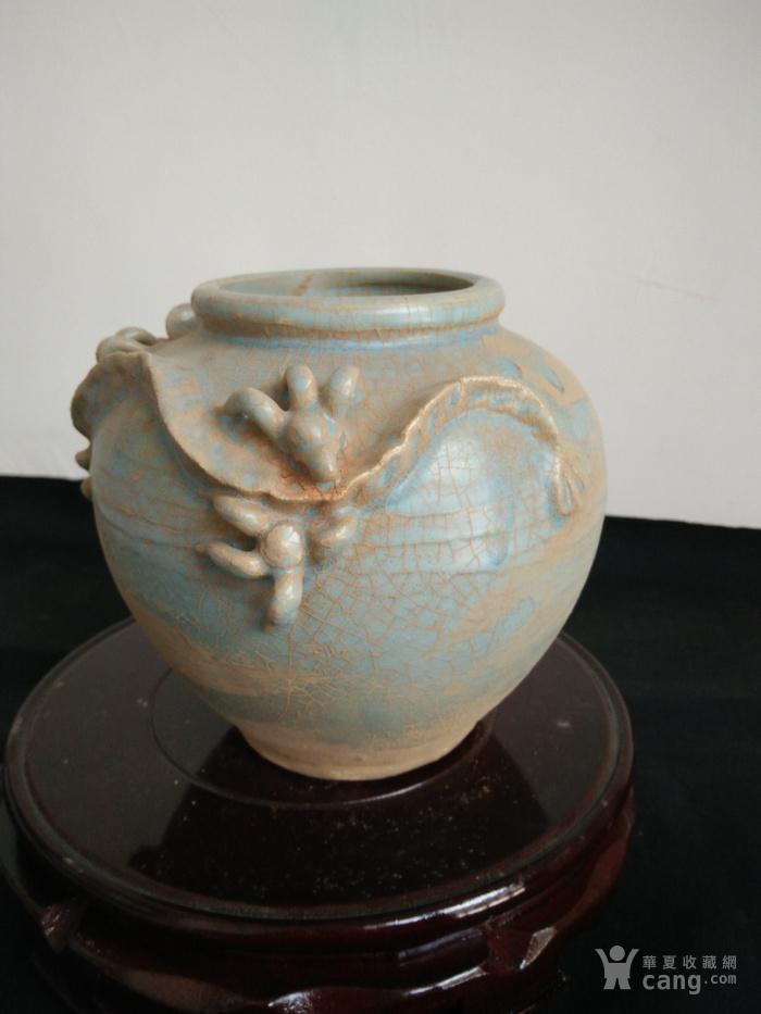 陶罐手绘三视图