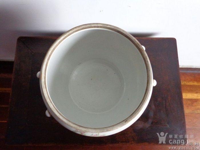 浅绛彩名家绂臣氏人物大粥罐
