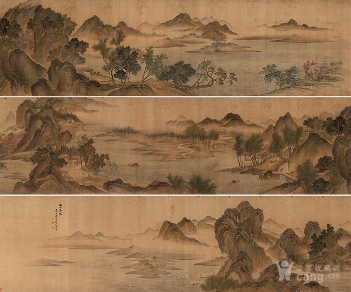 沧州6.20凹�b9�[�b8_清 恽寿平-湖山春暖图