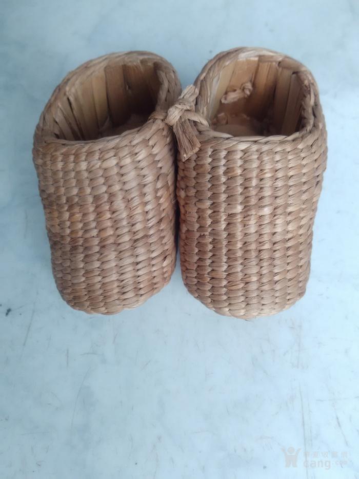 多年的手工编小草鞋