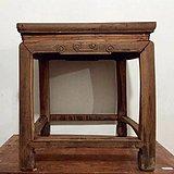 民国苏作榉木方凳一张