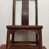 晚清苏作榉木小椅一张
