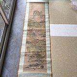清代著名书画名家(朱承)绘画的山水人物故事图