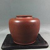 清末:钦州紫砂佳品平肩茶叶罐(基本全品)