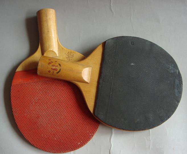 老乒乓球拍一对红双喜体育用品双面胶_老乒乓38式木兰扇歌谱音乐图片