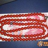 *红玛瑙大串【串珠108颗】可做项链、手链或车挂