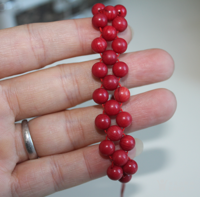 红珊瑚手串