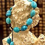 【金裕塬】高瓷高蓝绿松石手链
