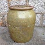 清---绿釉小缸