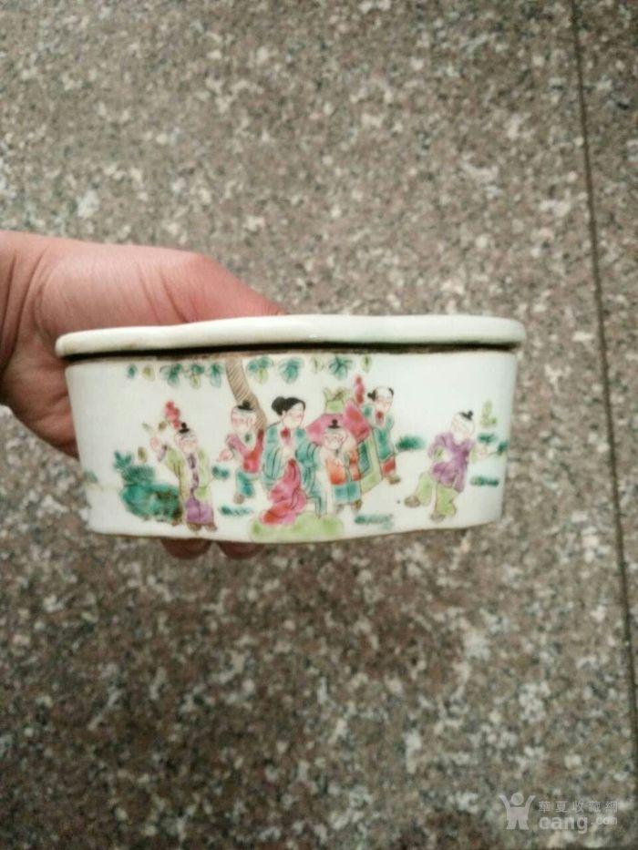 瓷蛐蛐罐子