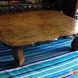 清老金丝楠木独板炕桌