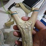油茶木叉手工弹弓