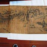 86米丝帛长卷----万里江山