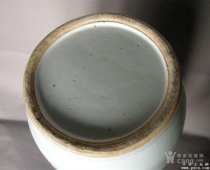 名家俞子明浅绛彩大花瓶