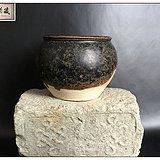 宋 吉州窑黑釉薄胎茶叶罐
