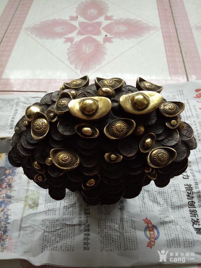 铜器 发财树