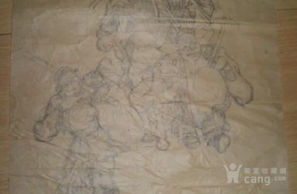 80年代,白描西游记铅笔画