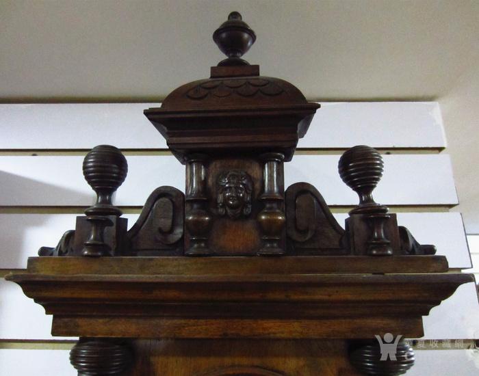 19世纪末 德国GB 精美木制大挂钟图6
