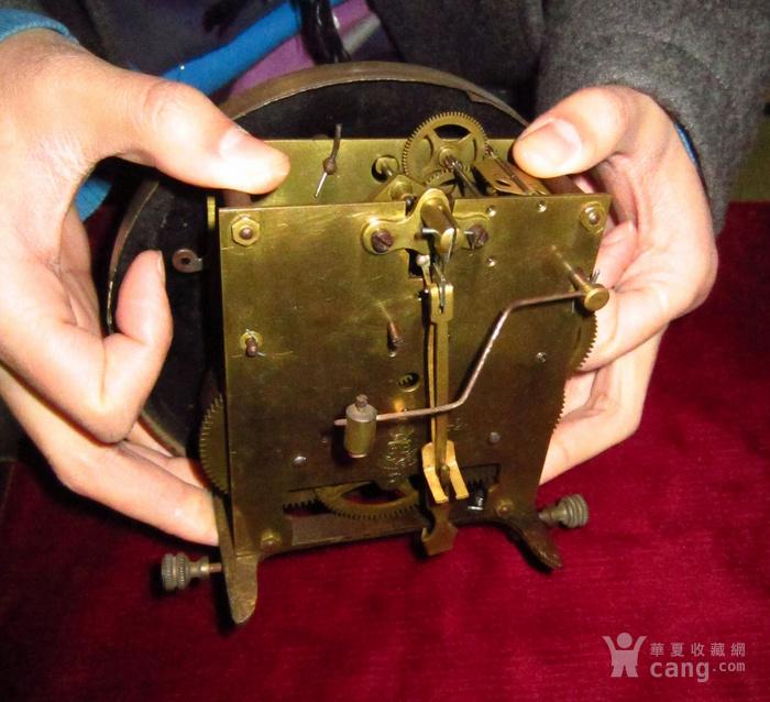 19世纪末 德国GB 精美木制大挂钟图7