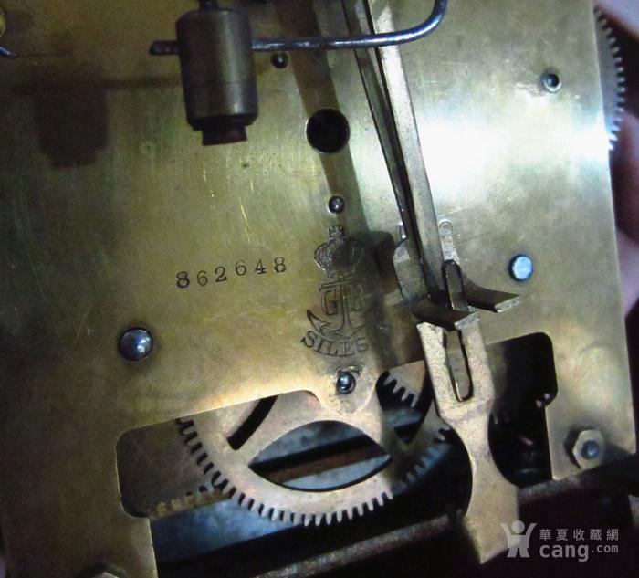 19世纪末 德国GB 精美木制大挂钟图9