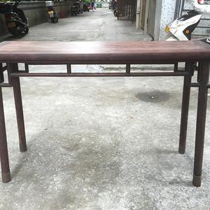 民国老红木酸枝 包铜明式文房桌