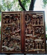 明清老木雕