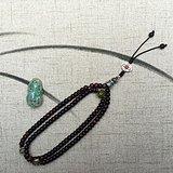 西藏老珠子 西藏古董 佛珠 紫檀老珠子 念珠 手串