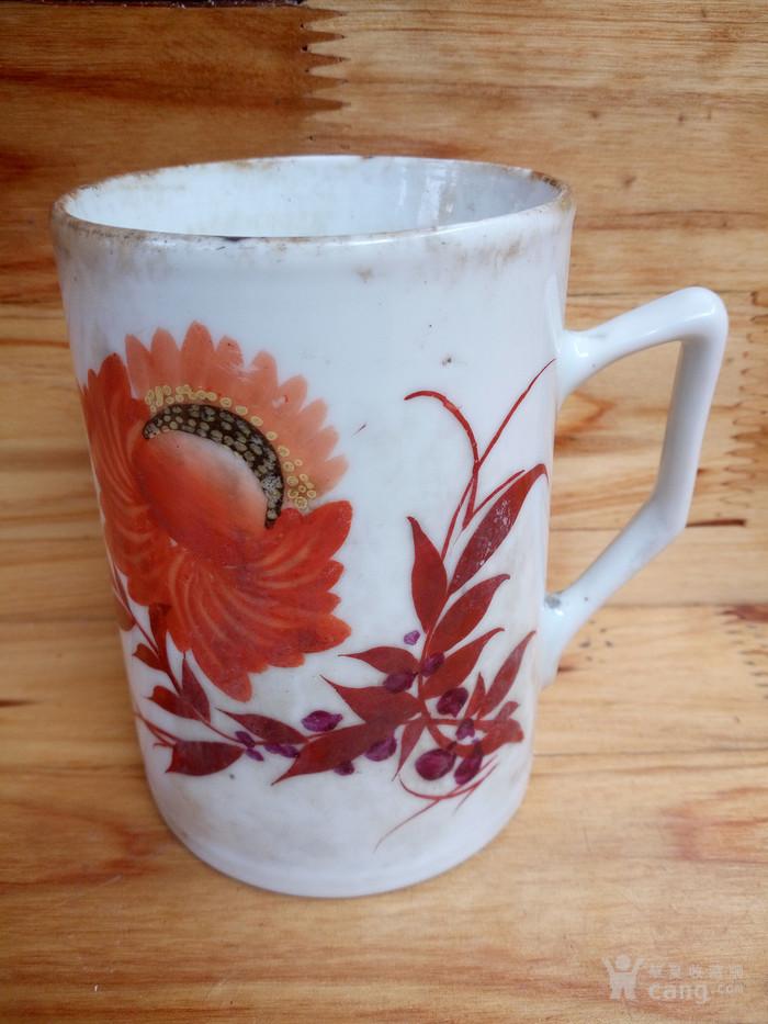 民国手绘茶杯