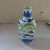 漂亮的青花龙瓶