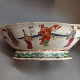 粉彩人物供碗  粉彩碗 青花碗
