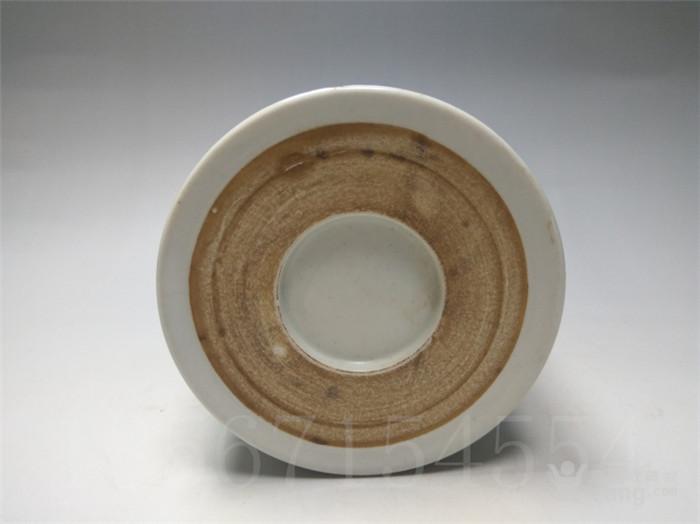 *号:18567154554 品名:民国仙搓墨彩竹石纹多功能可爱笔筒 古玩古董古