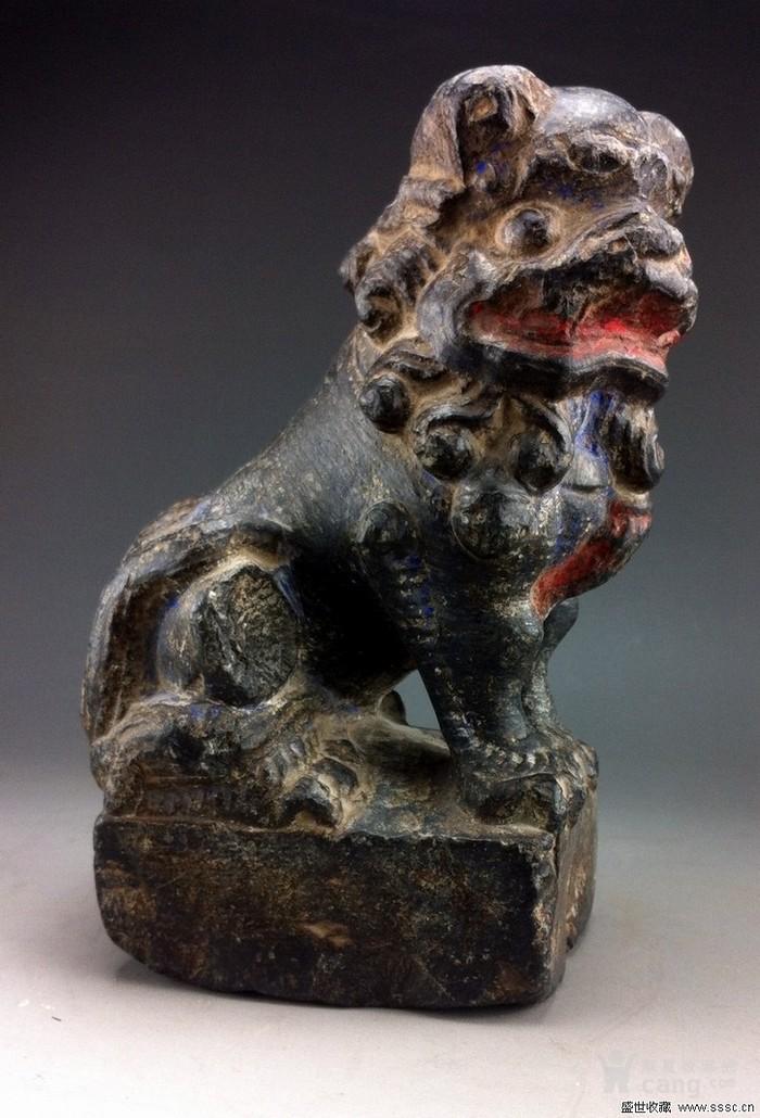 山西小石狮子图片