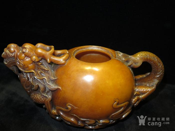 寿山石龙壶