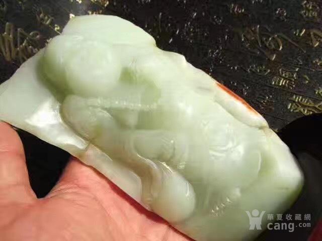 【重器】和田玉籽料 苏工 弥勒佛 摆件 玉质细腻图3