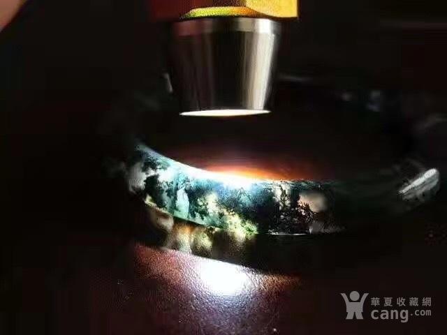 创汇时期 水草 玛瑙 圆条 手镯图5