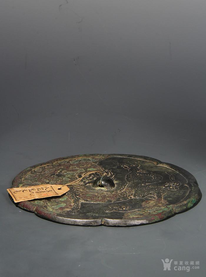 唐代 八花龙纹铜镜